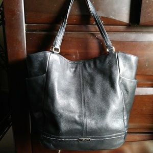 Authentic! Coach Leather Large Bag